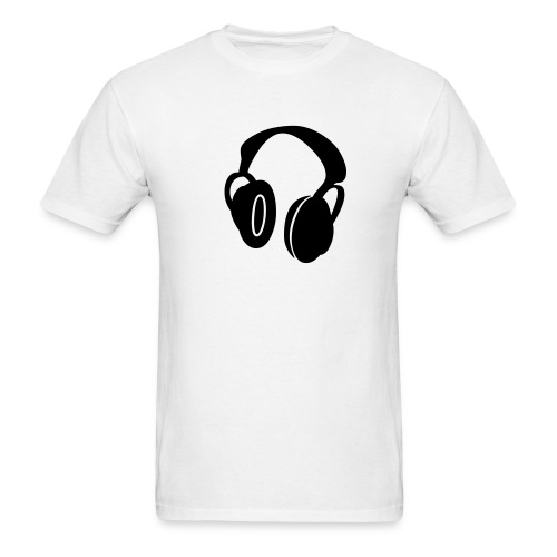 Head Phones - Men's T-Shirt