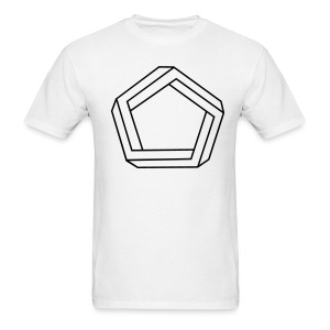Impossible Pentagon - Men's T-Shirt