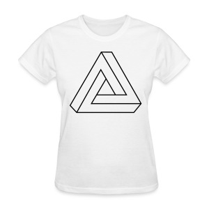 Impossible Triangle - Women's T-Shirt