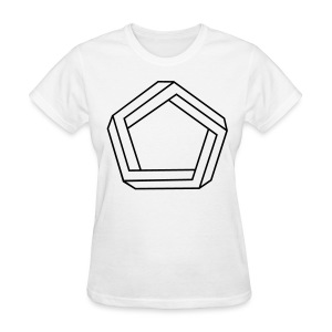 Impossible Pentagon - Women's T-Shirt