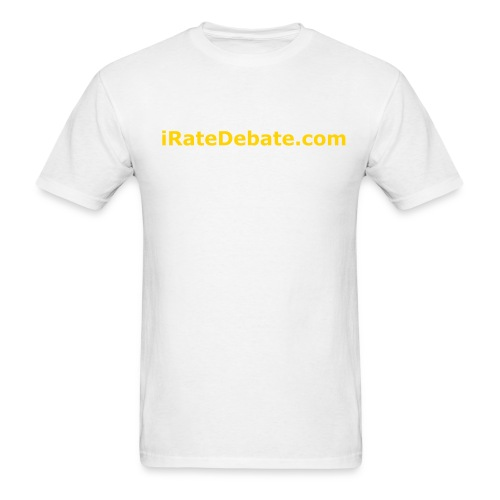 iRD White T - Men's T-Shirt