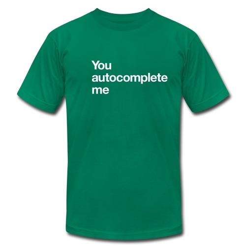 lvsh - You autocomplete me - Men's Fine Jersey T-Shirt