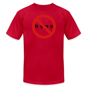 NO HYPE - Men's T-Shirt by American Apparel
