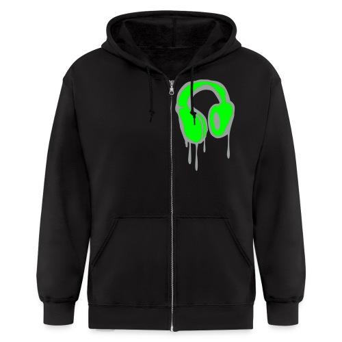Nikkilee RIOT mens hoodie - Men's Zip Hoodie