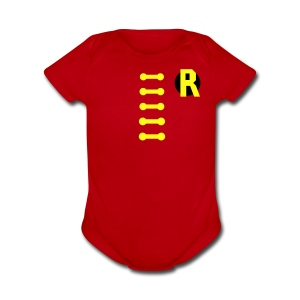 BOY WONDER COSTUME Baby Apparel - Short Sleeve Baby Bodysuit