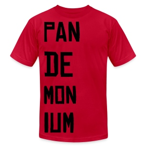 Paul pandemonium 2 - Men's T-Shirt by American Apparel