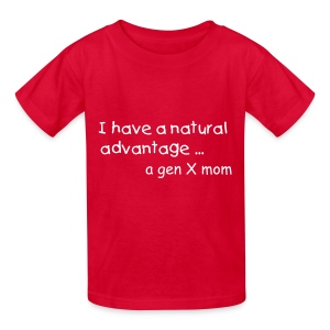 Natural Advantage Mum - Kids' T-Shirt