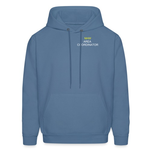 Area Coordinator/Scheme Manager Hooded Sweatshirt (Blue) - Men's Hoodie