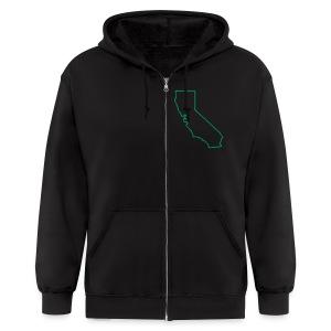 Cali-Calefaction hoodie - Men's Zip Hoodie