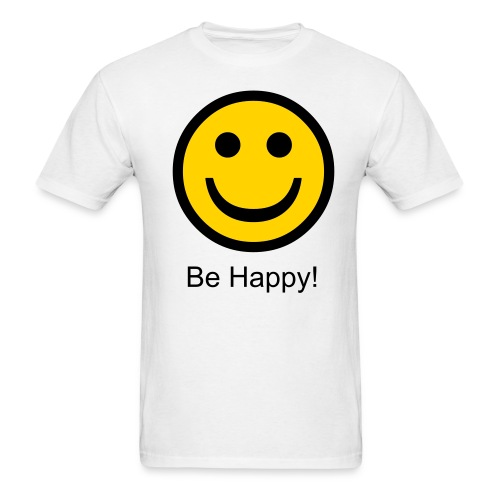 Be Happy! - Men's T-Shirt