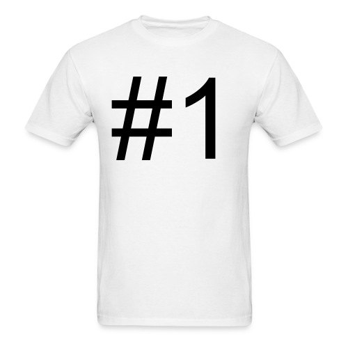 Number One - Men's T-Shirt