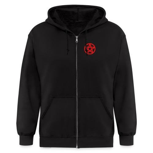 Pentagram Converse - Men's Zip Hoodie