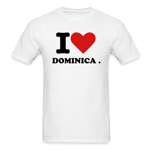LUV DOMINICA - Men's T-Shirt