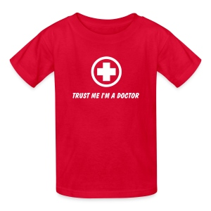 TRUST ME I AM A DOCTOR COSTUME T-Shirt - Kids' T-Shirt