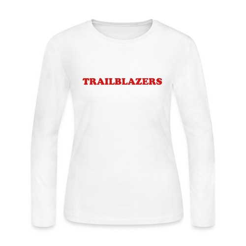 Trailblazers Womens' LS Jerzey T - Women's Long Sleeve Jersey T-Shirt