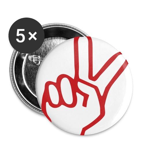 Peace Button - Large Buttons