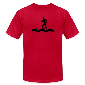 Walk on Water - Men's T-Shirt by American Apparel