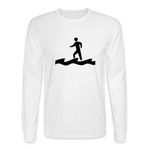 Walk on Water - Men's Long Sleeve T-Shirt