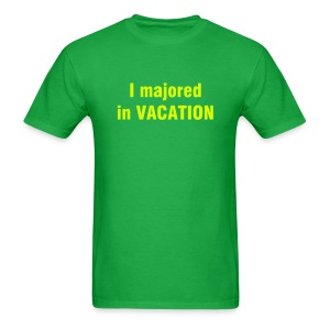 I majored in VACATION T-Shirt - HIGH SCHOOL MUSICAL - Men's T-Shirt