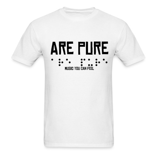 Are Pure Braille T - Men's T-Shirt