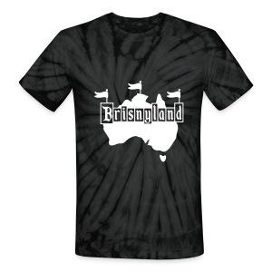 Brisnyland - Unisex Tie Dye T-Shirt