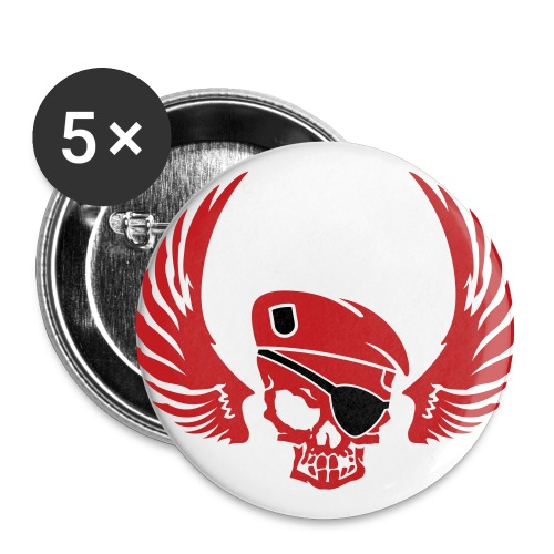 DEATH SQUAD BUTTONS - Buttons large 2.2'' (5-pack)