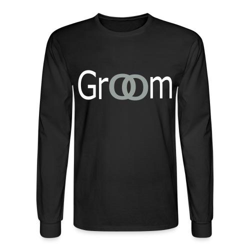 groom two - Men's Long Sleeve T-Shirt
