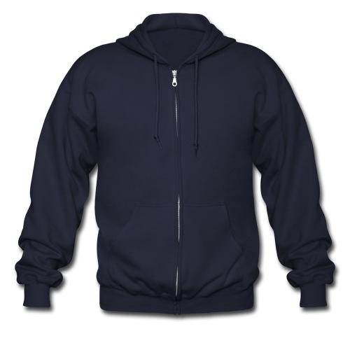 Plain - Men's Zip Hoodie