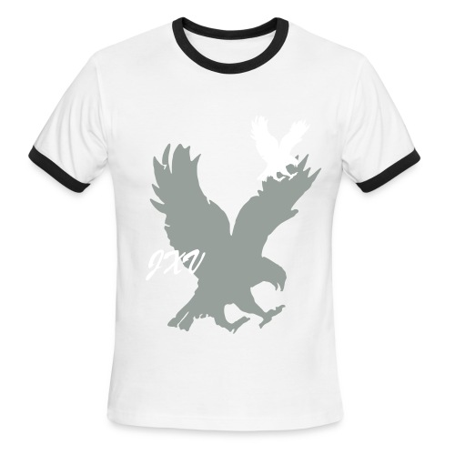 Eagle Graphic Tee - Men's Ringer T-Shirt
