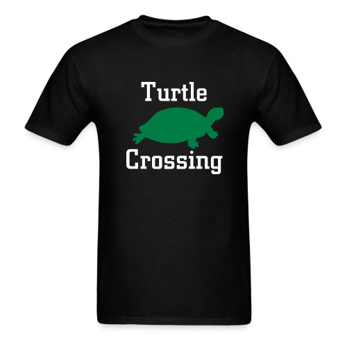 Turtle Crossing - Men's T-Shirt