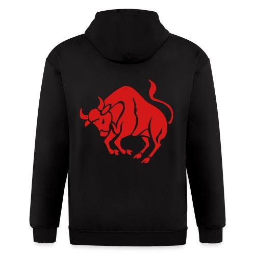 bull hoodie - Men's Zip Hoodie