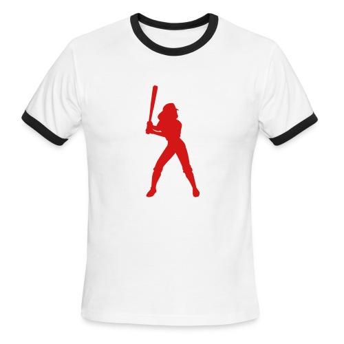 cool A - Men's Ringer T-Shirt