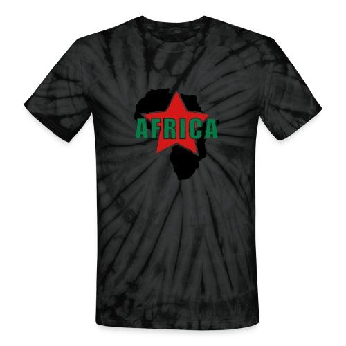 Star Africa - Unisex Tie Dye T-Shirt