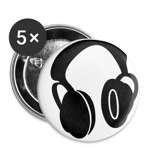 HARDSTYLE DJ - Buttons small 1'' (5-pack)
