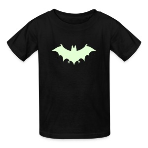 Glow-in-the-Dark SUPERHERO COSTUME T-Shirt Halloween Kids - Kids' T-Shirt