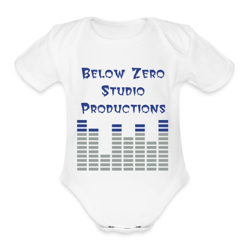 Below Zero One size - Organic Short Sleeve Baby Bodysuit