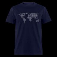 T-Shirts ~ Men's T-Shirt ~ Dot Matrix World