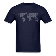 T-Shirts ~ Men's T-Shirt ~ Dot Matrix World