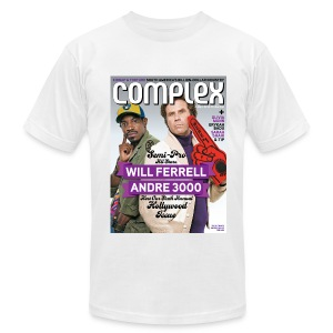 Will Ferrell & Andre 3000 - Men's T-Shirt by American Apparel