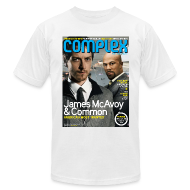 T-Shirts ~ Men's T-Shirt by American Apparel ~ James McAcoy & Common