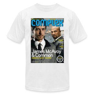 James McAcoy & Common - Men's T-Shirt by American Apparel