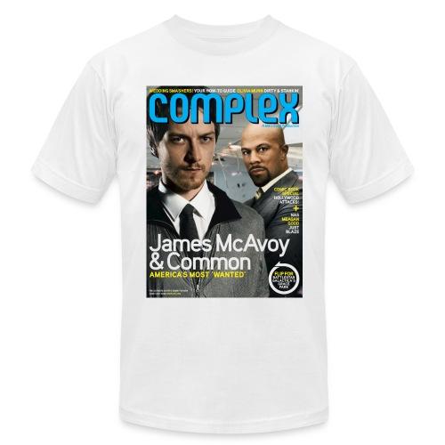 James McAcoy & Common - Men's  Jersey T-Shirt
