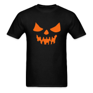 T-Shirts ~ Men's T-Shirt ~ SCARY PUMPKIN
