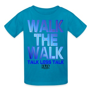 WALK THE WALK - Kids' T-Shirt