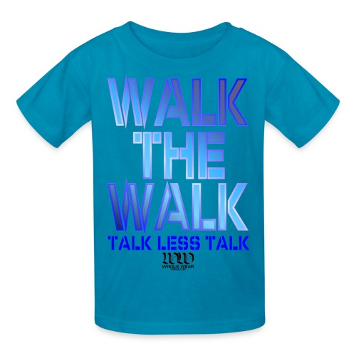 WALK THE WALK - Kids' T-Shirt
