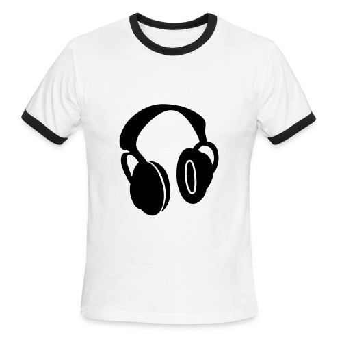 music boy - Men's Ringer T-Shirt