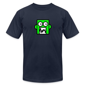 Chatty Robot - Men's T-Shirt by American Apparel