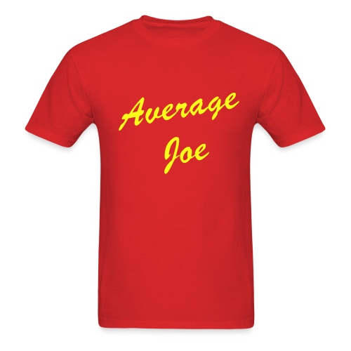 AVERAGE (YOUR NAME) CLICK-TO-EDIT T-Shirt - Men's T-Shirt