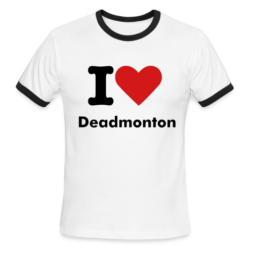 I Heart Deadmonton - Men's Ringer T-Shirt