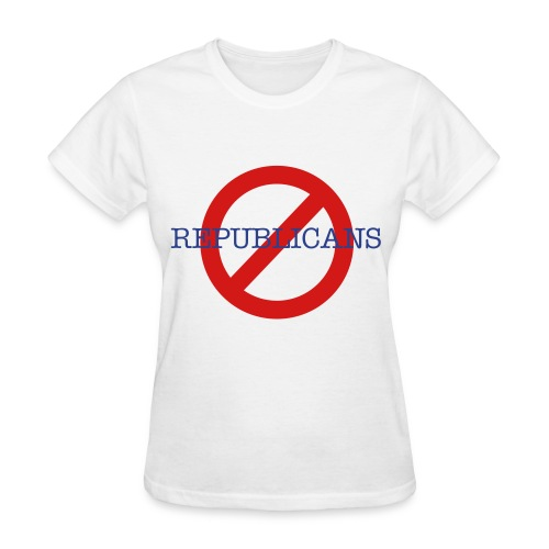 Anti Republican - Women's T-Shirt
